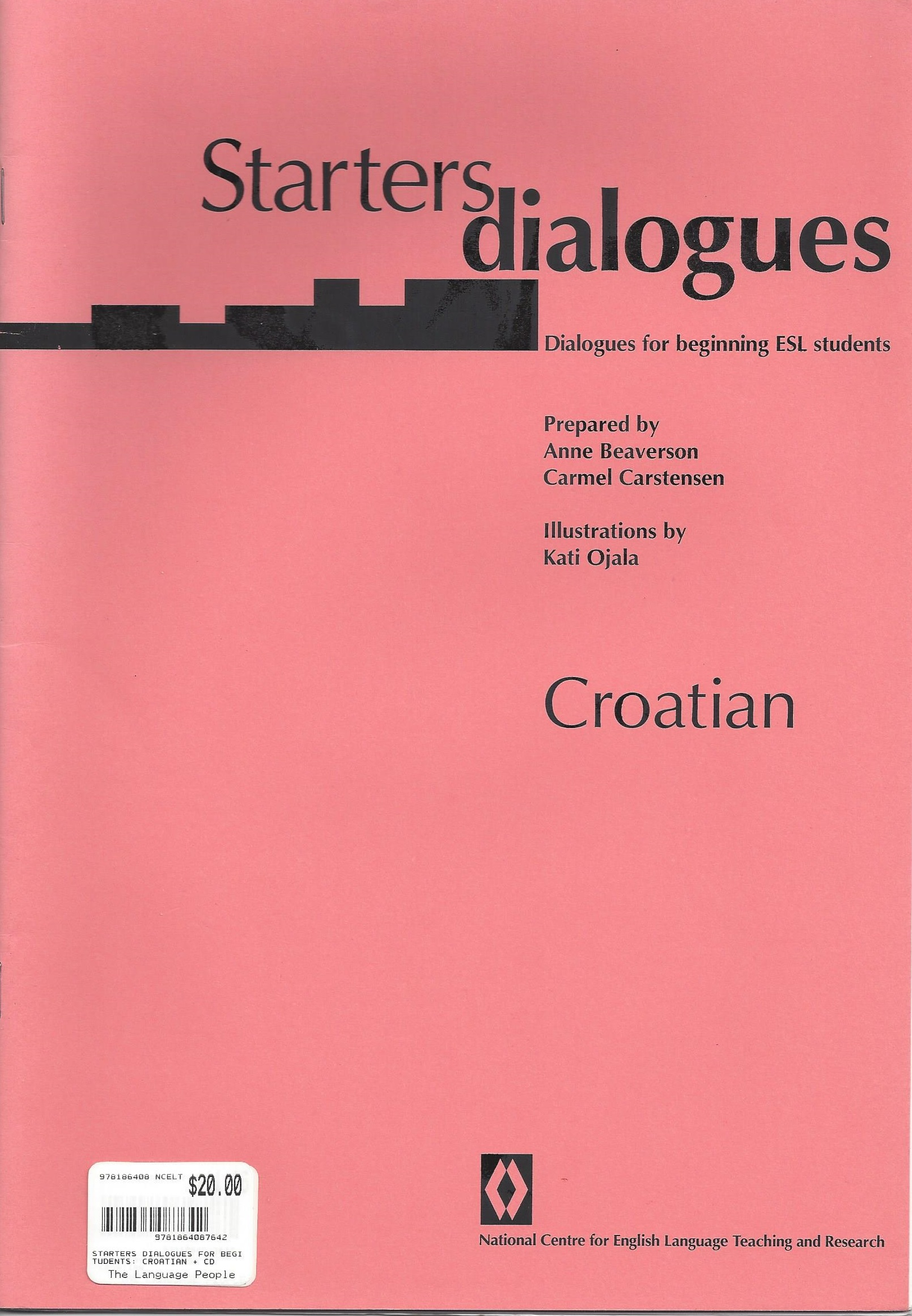 Starters Dialogues: Croation - A Resource for People Learning English